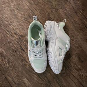 ASOS chunky white & mint sneaker